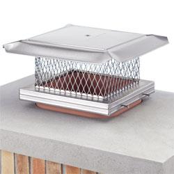 Stainless Steel Homesaver Pro Chimney Cap